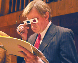 Garrison Keillor looks at Wisconsin Wildflowers in 3D